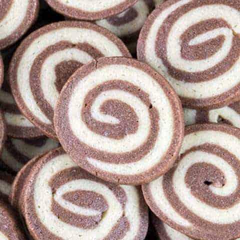 Chocolate Pinwheel Cookies