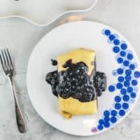 Blueberry Blintzes