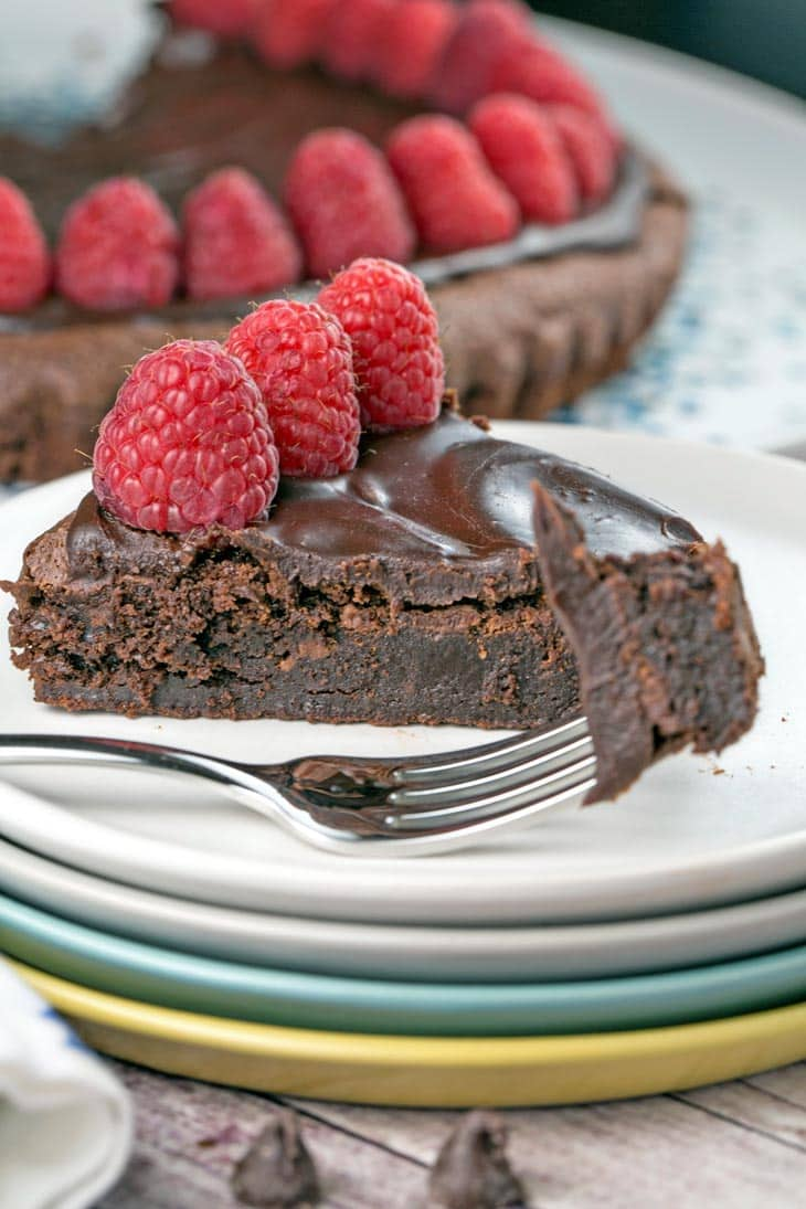 Flourless Chocolate Ganache Cake | Bunsen Burner Bakery