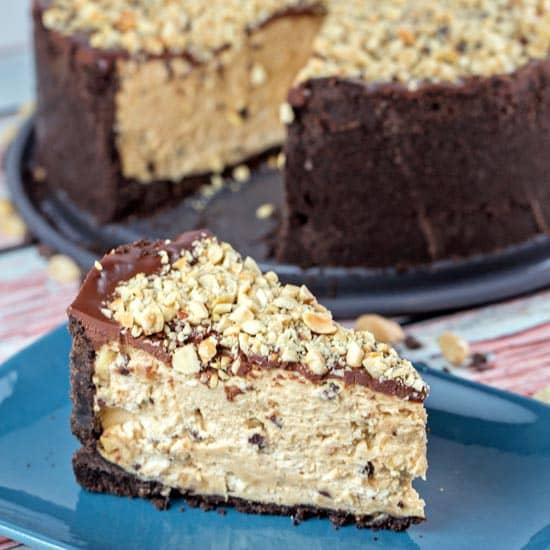 Chocolate Oreo Peanut Butter Torte
