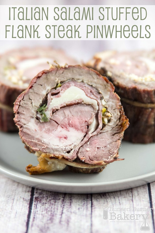 Easy flank steak pinwheel recipe