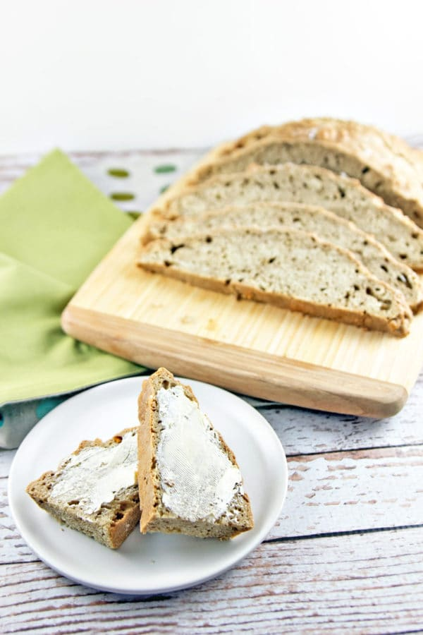 Guinness Irish Soda Bread: take your St. Patrick's Day up a notch with this stout-infused soda bread. {Bunsen Burner Bakery}