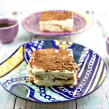 Whip up a delicious batch of easy traditional tiramisu in mere minutes - no baking necessary. Create your own Italian delicacy at home! {Bunsen Burner Bakery}