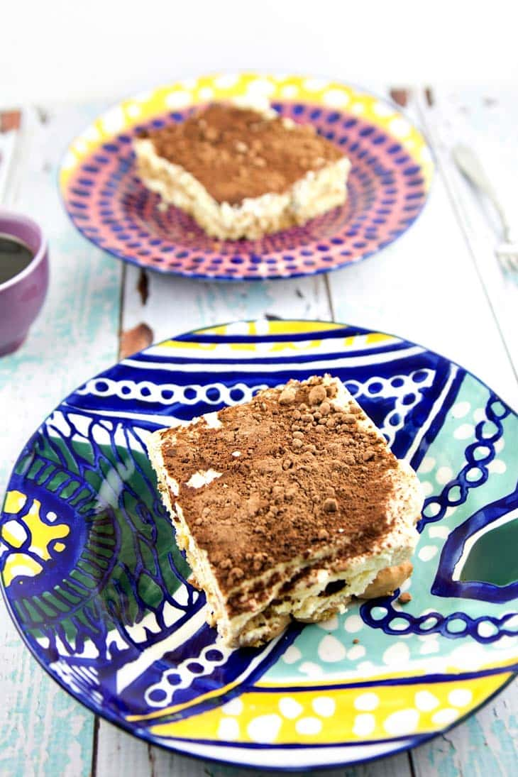 Easy Traditional Tiramisu: Whip up a delicious batch of easy traditional tiramisu in mere minutes - no baking necessary. Create your own Italian delicacy at home! {Bunsen Burner Bakery}