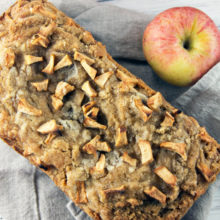 Apple Bread with Cinnamon Crumble