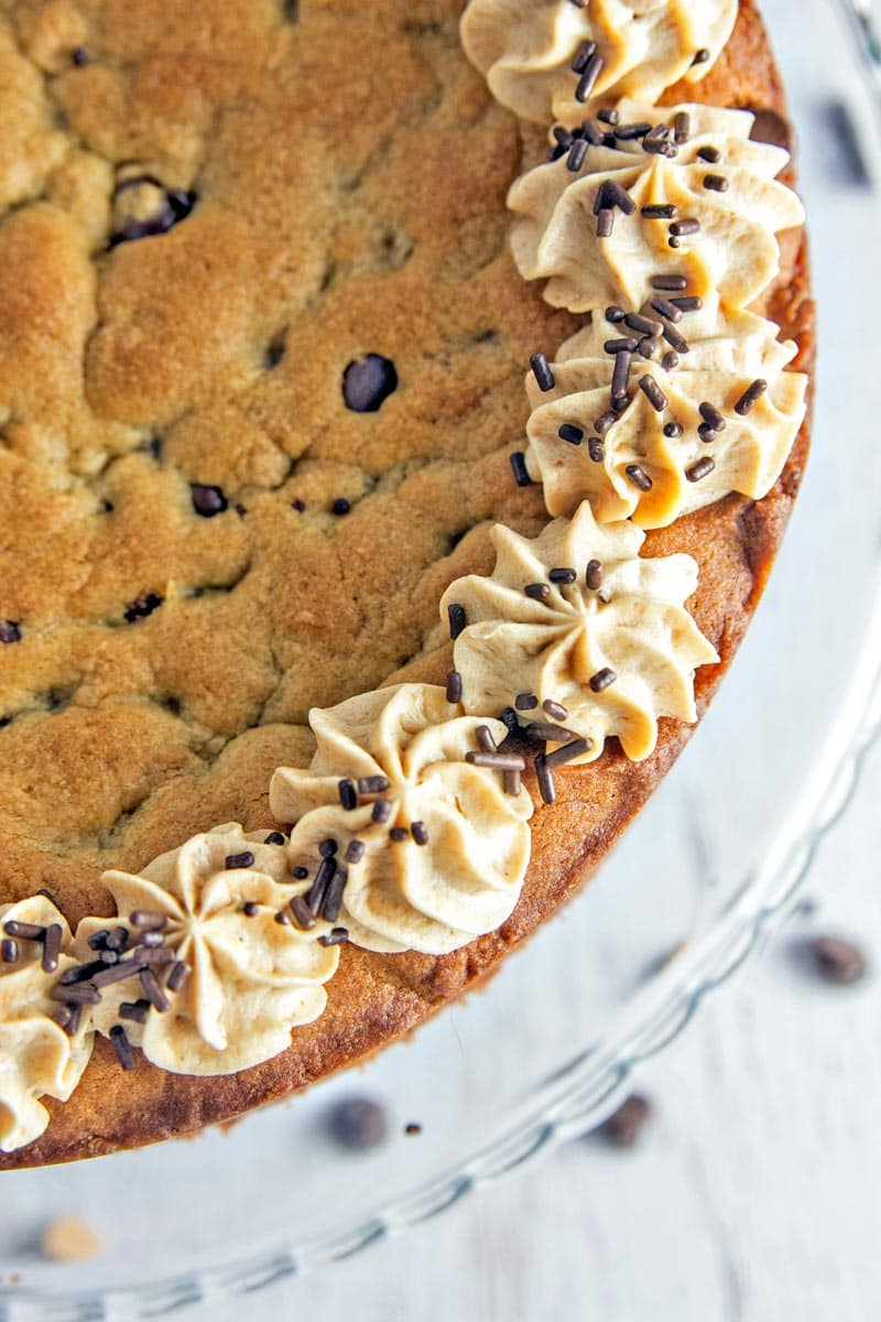 Peanut Butter Cup Cookie Cake | Bunsen Burner Bakery