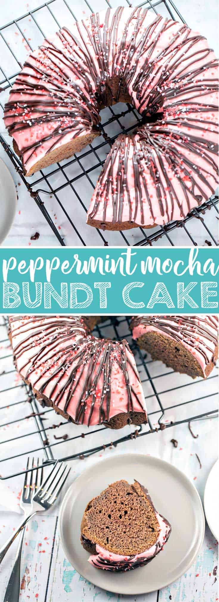 Peppermint Mocha Bundt Cake Recipe
