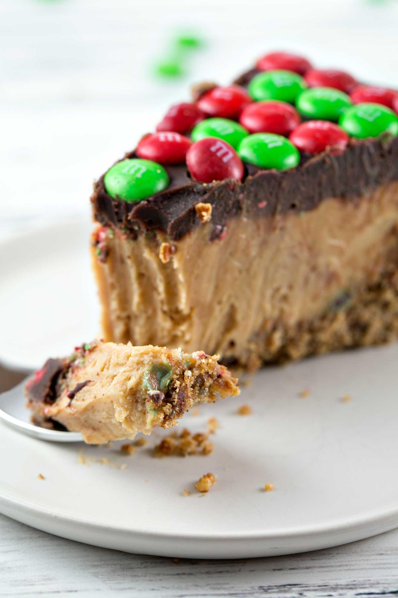 Peanut Butter Pie No Bake Chocolate Ganache