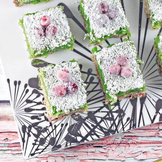 Cranberry Lime Bars