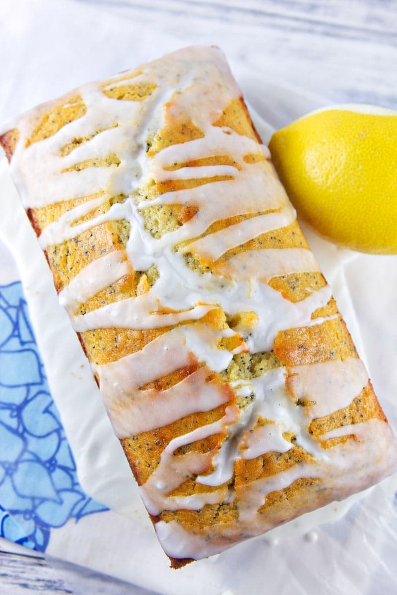 Lemon Poppy Quick Bread: a fresh take on a classic, this is more moist and lemony than your grandmother's lemon loaf. {Bunsen Burner Bakery}