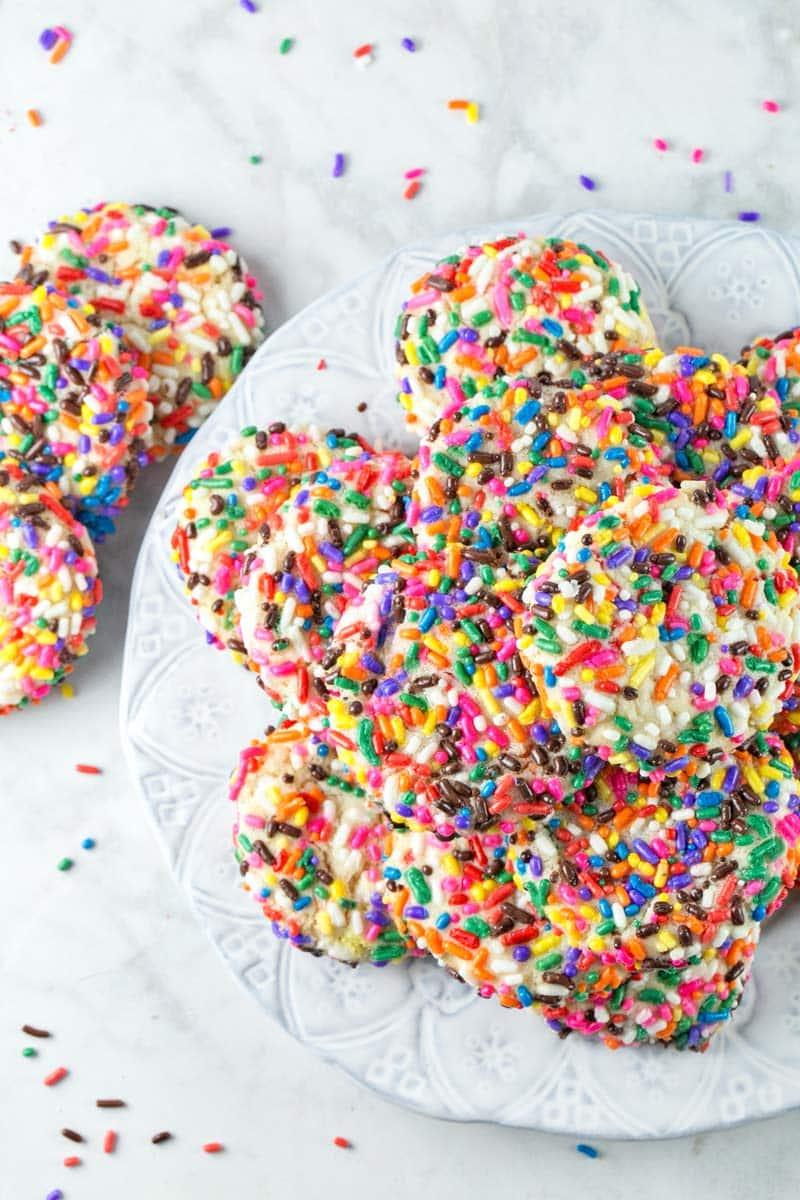 Sprinkle Sugar Cookies | Bunsen Burner Bakery
