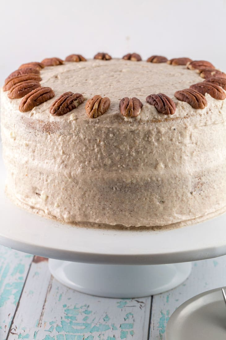 Carrot Cake with Lemon Cinnamon Cream Cheese Frosting: a delicious and ...