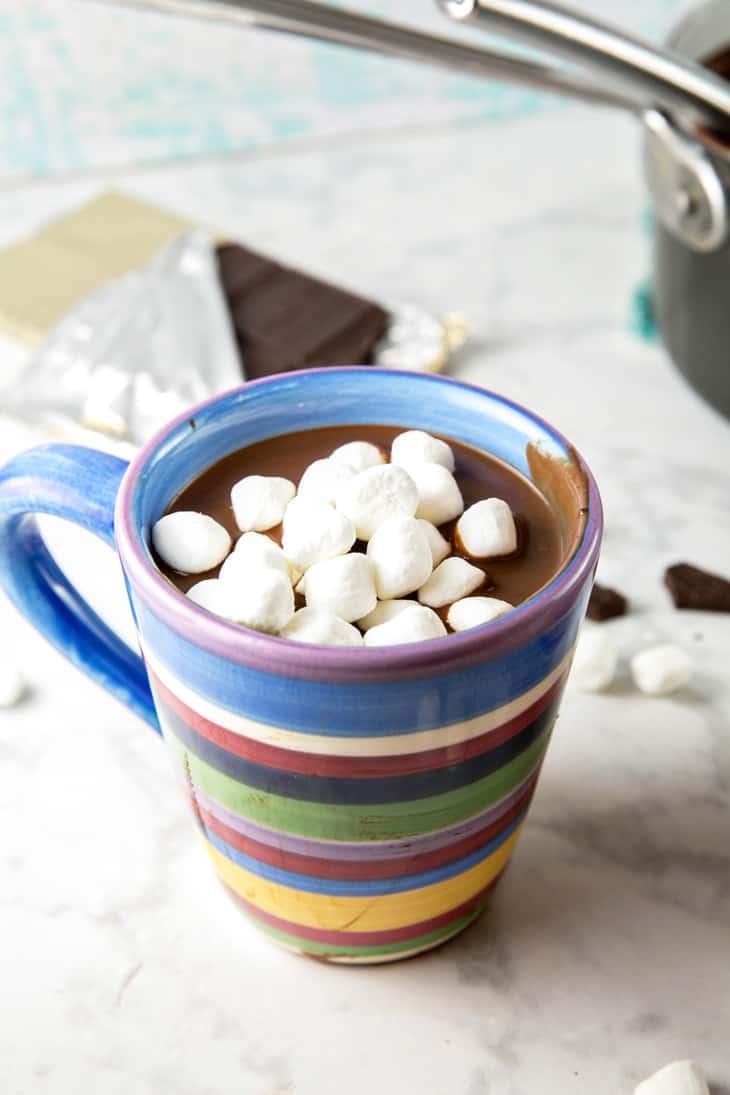 Decadently Thick Hot Chocolate Recipe  Bunsen Burner Bakery