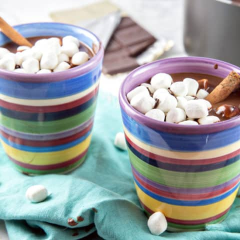 Decadently Thick Hot Chocolate Recipe