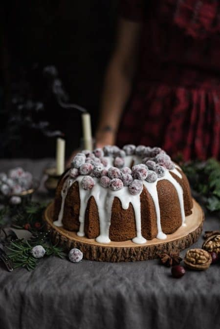 40 best bundts: cranberry walnut bundt cake