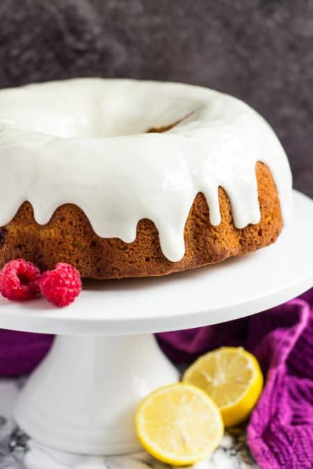 50 Best Bundts: lemon raspberry bundt cake