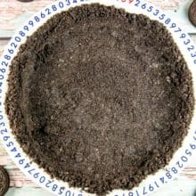 Oreo Cookie Crust Recipe: Skip the premade crusts and make your own homemade no bake Oreo cookie crust, with just crushed Oreos and melted butter. {Bunsen Burner Bakery} #oreos #oreocrust #cookiecrust #piecrust