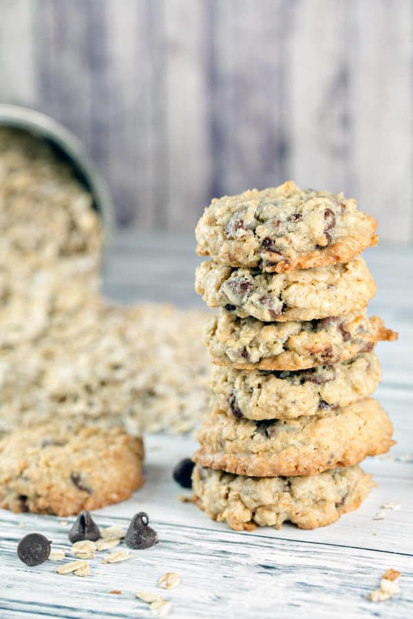 Oatmeal Chocolate Chip Cookies Bunsen Burner Bakery