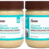 Soom Foods Pure Ground Sesame Tahini Paste