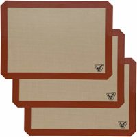 Silicone Baking Mat - Set of 3 Half Sheet