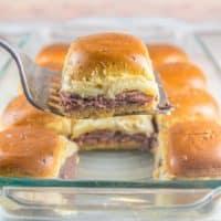Baked Roast Beef Sliders