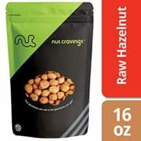 Raw Hazelnuts With Skin (1 Pound)