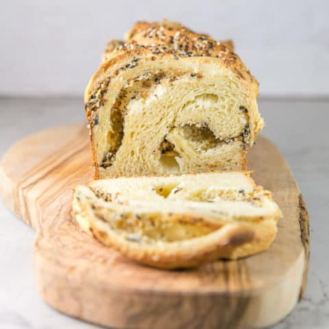 Everything Bagel Babka